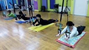 TRX pilates by Lilly Velissariou
